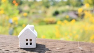 s-草原と白い家