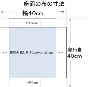 座面の寸法
