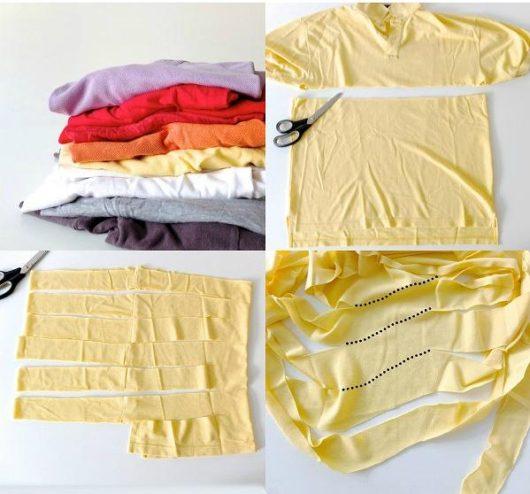 s-Tシャツの切り方